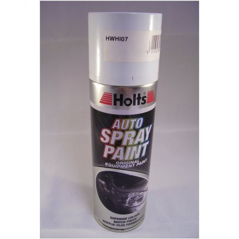 HWHI07 Paint Match Pro aerosol spray paint white non-metallic