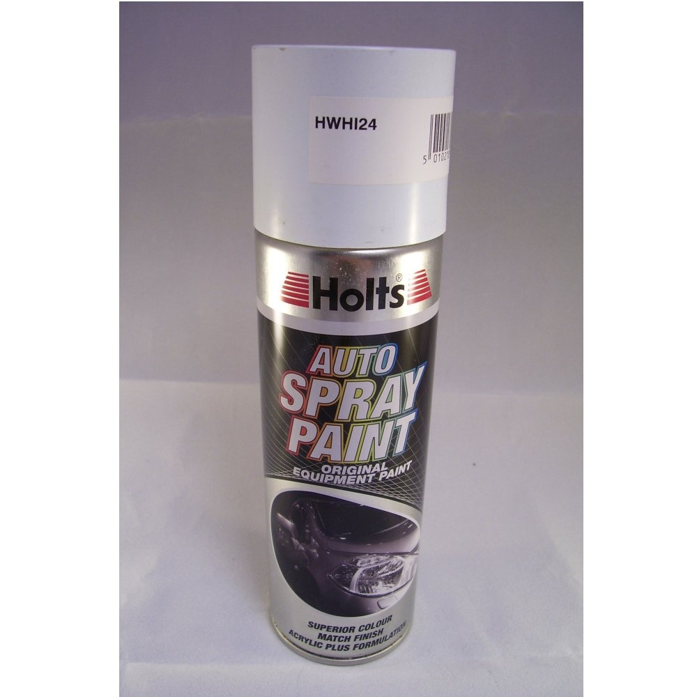 Hwhi24 Holts Paint Match Pro Aerosol Ford Frozen White Aerosol Paint