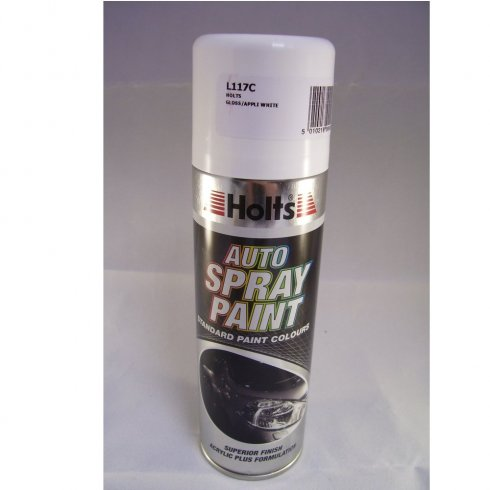 L117C Paint Match Pro aerosol spray paint gloss appliance white