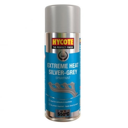 Hycote extreme heat silver-grey spray paint (550 degrees) VHT