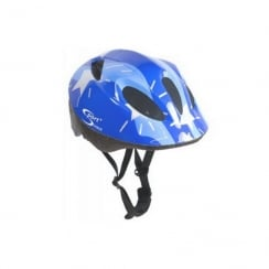 Junior blue cycle helmet - Small 48-52cm