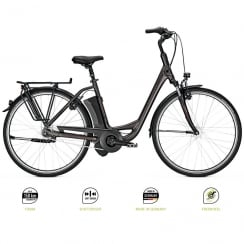 Agattu i7 HS Step-through electric bike in grey finish