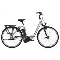 Jubilee Excite i7 step-through electric bike with 17ah battery and Gates belt drive