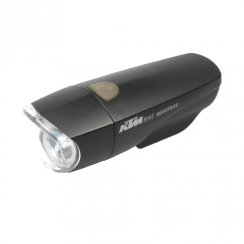 1 watt LED front bike light including bracket and batteries
