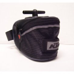 bike saddle bag with T-system fitment 1.2 litre