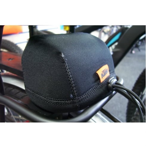 KTM Bosch e-bike pannier mounted battery terminal cover for when battery removed