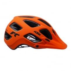 Factory Character ABS orange/black cycle helmet 54-59cm