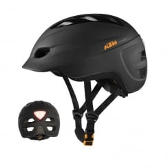 KTM Factory e-bike cycling helmet 54-59cm with integrated rear light