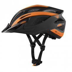Factory Line adults cycle helmet black and orange 58-62