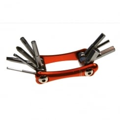 hi-grade multi-function bike tool with allen key, torx and screwdriver bits