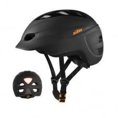 KTM Factory e-bike matt black cycling helmet 54-59cm