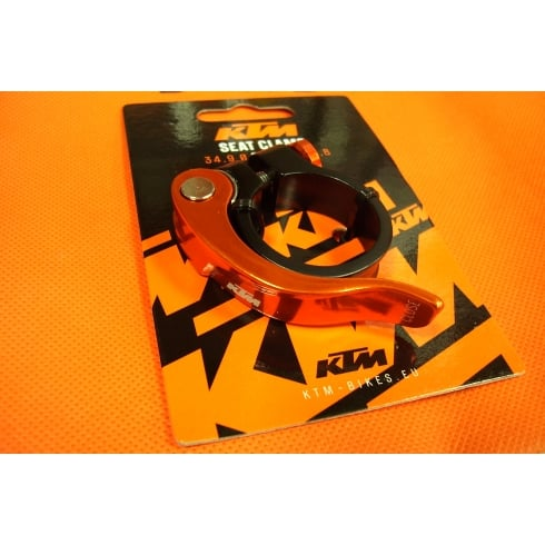 KTM quick release bike seat clamp 31.8mm