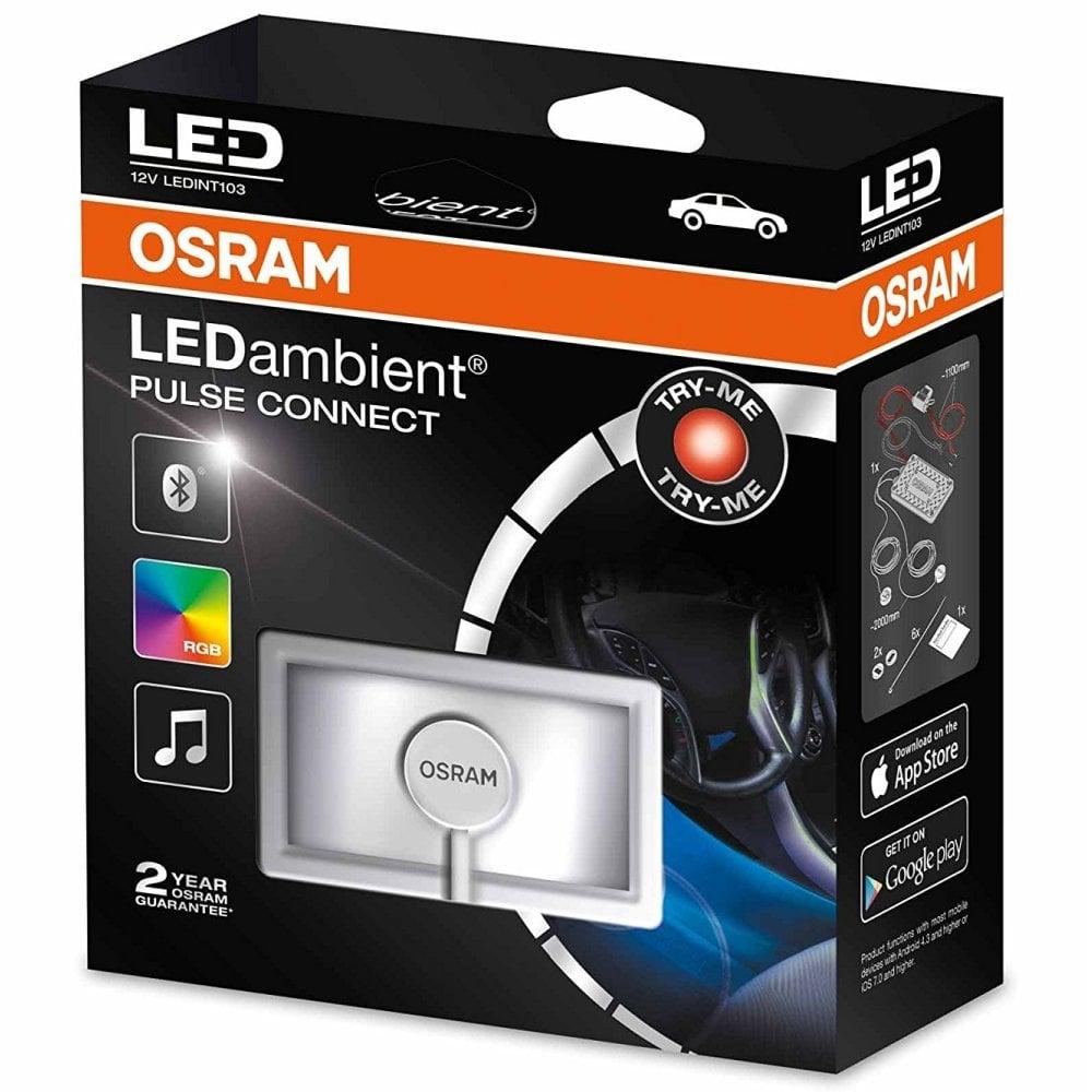 osram ledint103 led ambient pulse connect styling lights. Black Bedroom Furniture Sets. Home Design Ideas