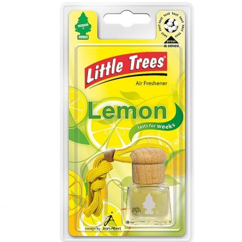 Little Tree lemon bottle air freshener