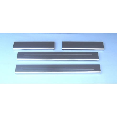BMW X5 stainless steel sill protectors (set of 4 sills) 2007-2013 (E70)