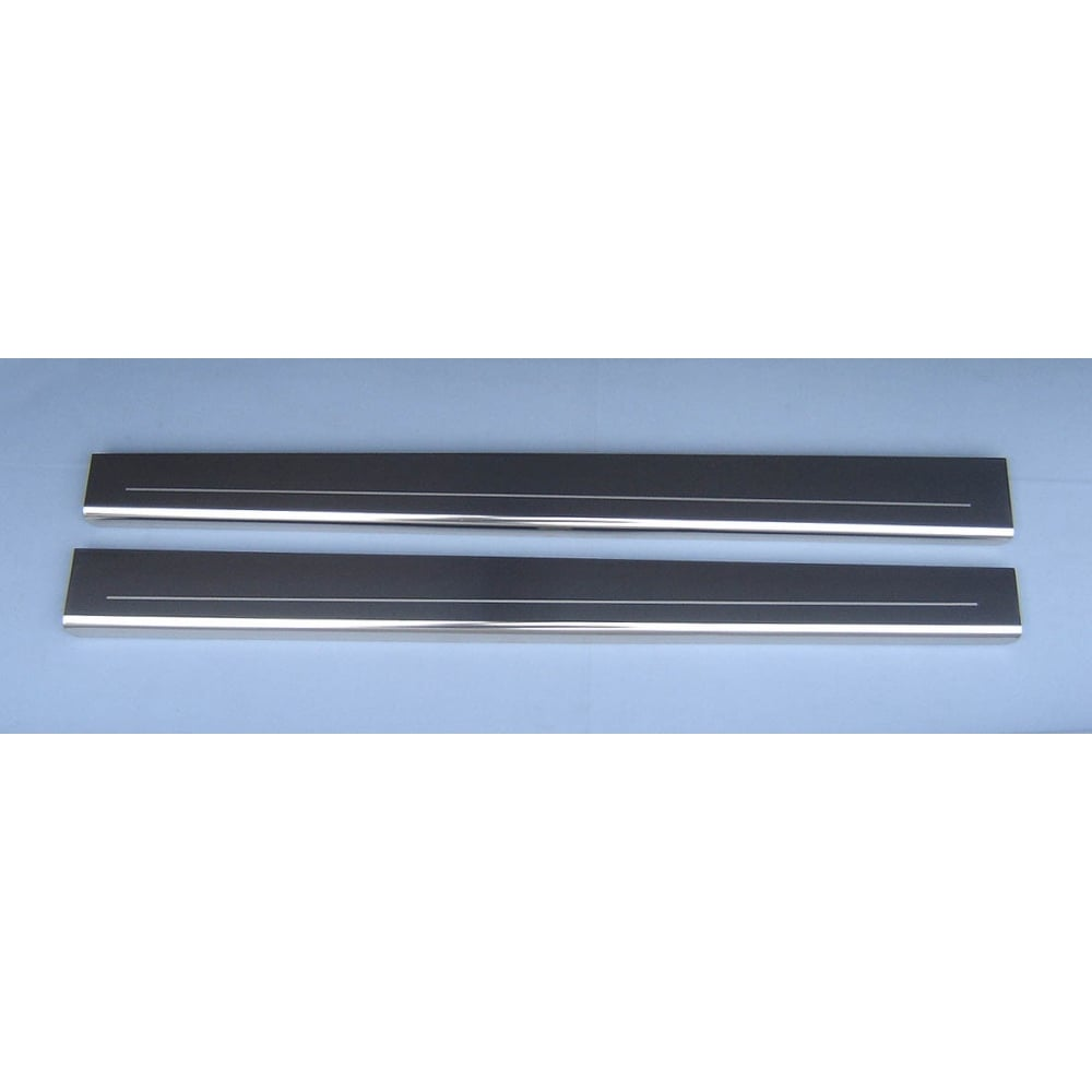 Stainless Steel Door Sill Protectors For Vauxhall Corsa D