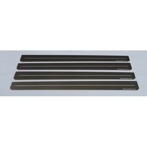 Vauxhall Zafira B 5 door stainless steel sill protectors (set of 4 sills)