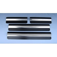 VW Touareg stainless steel sill protectors (set of 4 sills) 2002 to 2009 models