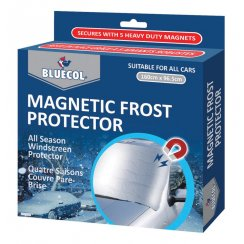 Magnetic car windscreen frost protector