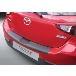 Mazda 2 3/5 door rear bumper protector February 2015 onwards
