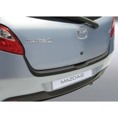 Mazda 2 rear guard bumper protector 3 and 5 door Mar 2007 to Jan 2015