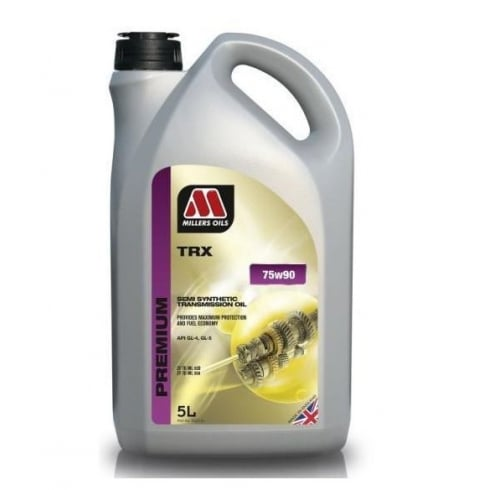 Millers Oils TRX 75w90 semi synthetic gearbox oil - 5 litres