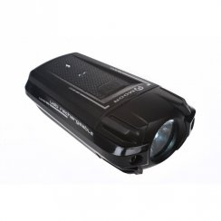Meteor USB rechargeable front bike light with 250 lumens output