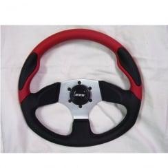 range steering wheel 350mm, 3 spoke centre