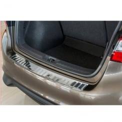 Nissan Pulsar stainless steel rear bumper protector October 2014 onwards