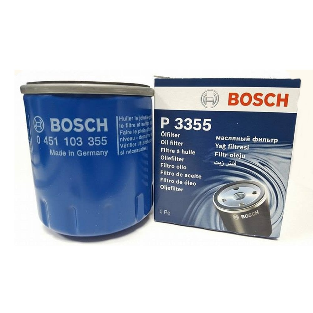 genuine bosch oil filter genuine p3355 0451103355 from direct car parts
