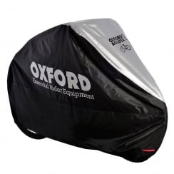 Aquatex single silver bike cover (190 x 72 x 110cm)