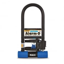 LK356 cycle shackle lock / alarm-D Max sold secure silver rating