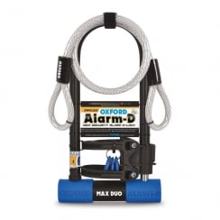 Oxford alarm-D DUO Maxwith shackle sold secure silver