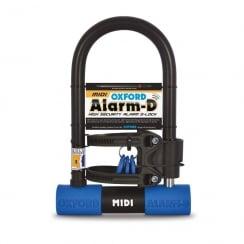 Oxford alarm-D midi (260mmL x 169mmW x 14mm) Sold secure silver