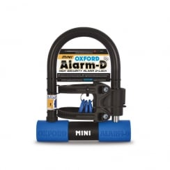 Oxford alarm-D mini (205mmL x 155mmW x 14mm) Sold secure silver