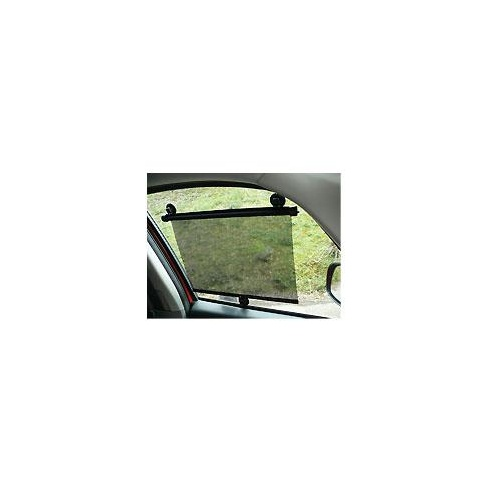 Pair of universal car window roller sun shades
