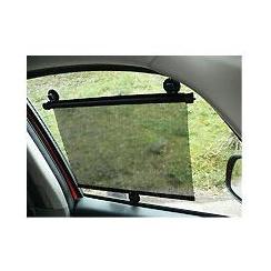 Pair of universal car window roller sun shades