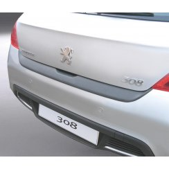 Peugeot 308 rear guard bumper protector 3/5 door September 2007 to December 2013