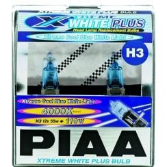 H3 Xtreme White Plus headlight bulbs