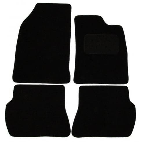 Ford Fiesta MK6 car mats 2002-2008 with round clips