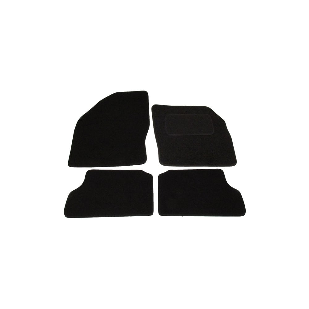 Ford Focus Set Of Four Black Car Mats With Round Clips From Direct