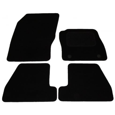 Ford Focus car mats 2011-2015 with round clips