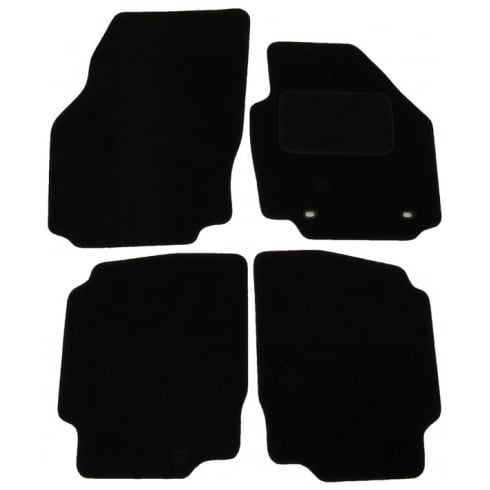 Ford Mondeo car mats 2007-2012 with oval clips