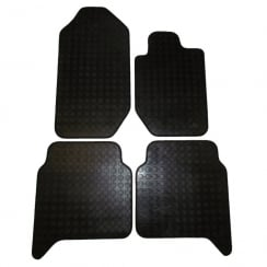 four piece rubber tailored to fit van mats for Ford Ranger 2012>