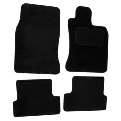 Mini (Not clubman) black car mats 2002-2006 with no clips