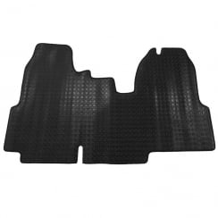 One piece rubber tailored to fit van mat for Ford Transit 2006-2010
