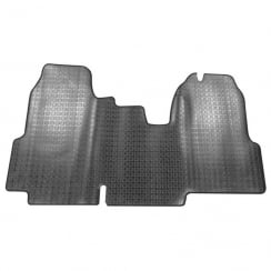 one piece rubber tailored to fit van mat for Ford Transit 2014>
