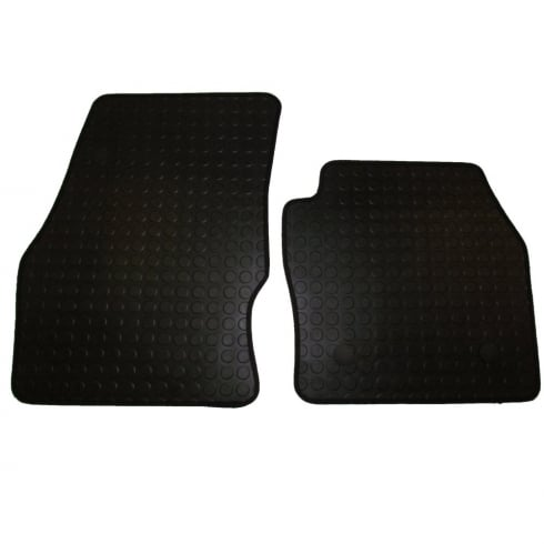 two piece front rubber tailored to fit van mats for Ford Connect 2014>