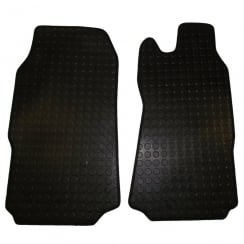two piece front rubber tailored to fit van mats for Ford Transit 2010-2014