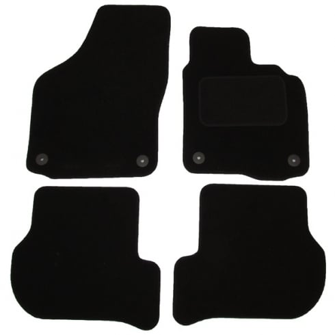 Polco Volkswagen Golf 6 car mats 2008-2013 with round clips